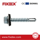 Hex head self-drilling screw